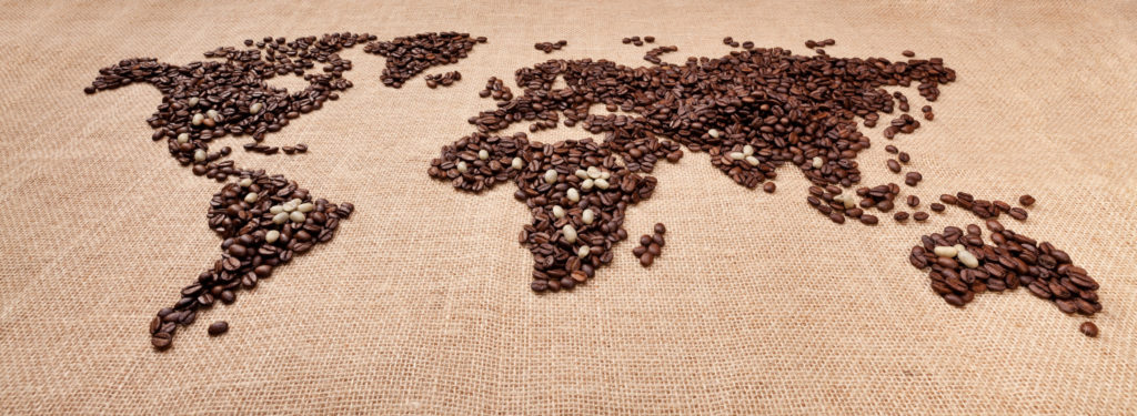 Kaffeegürtel Weltansicht Da Roberto Kaffeemanufaktur Kaffeerösterei Westerwald