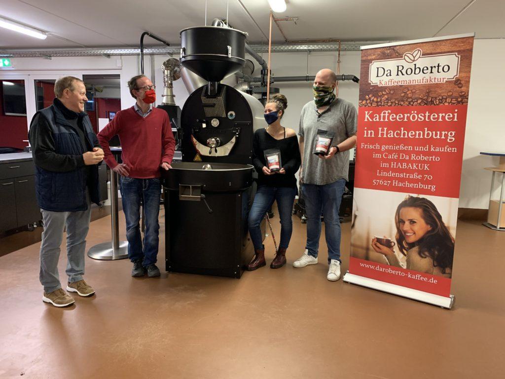 Kaffeespende für Aktion Weihnachten mit Herz von der ersten Kaffeerösterei in Hachenburg